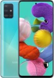 Samsung Galaxy A51 6.5 Dual-sim Octo-core Smartphone 128GB Android 10.0 Prism Crush Blue
