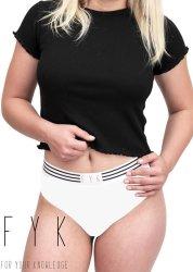 Fyk Bikini - White - S