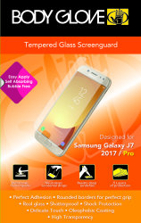Body Glove Tempered Glass Screen Protector For Samsung Galaxy J7 PRO 2017 -  Clear | R | Samsung Accessories | PriceCheck SA