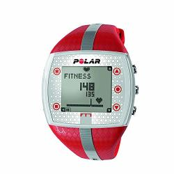 Polar FT7 Heart Rate Monitor Renewed Red silver