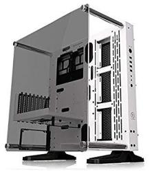 Core Thermaltake P3 Atx Tempered Glass Gaming Computer Case Chassis Open Frame Panoramic Viewing Glass Wall-mount Riser Cable In