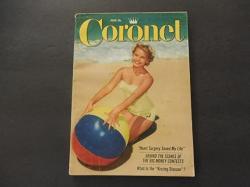Coronet Jun 1956 Heart Surgery Kissing Disease Big Money Contests