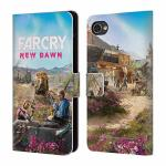 Official Far Cry Twins Couch New Dawn Key Art Leather Book Wallet Case Cover Compatible For Blackberry Motion