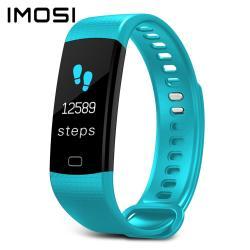 Imosi Y5 Smart Braceletcolor Screen Heart Rate Fitness Tracker Watch - Sky Blue