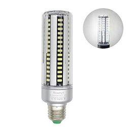 Rowrun LED Light Bulb Warm White 6000K 25W E26 E27 Corn Light Bulb 200W Equivalent 110V Not Dimmable