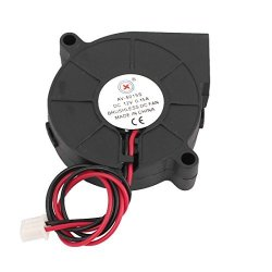 Uxcell Dc 12V 0.15A 2 Pins Sleeve Bearing Brushless Cooling Turbo Blower Fan Cooler