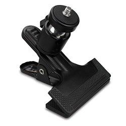 "SUPON Multi-function Tripod Camera Clip Clamp Flash Holder Mount With 360 Swivel Photography Ball-head 1 4"" Threaded Screw For Camera Tripod Slr Dslr Video Cameras Studio Backdrop Camera"