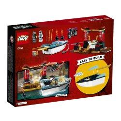 LEGO Juniors Zane's Ninja Boat Pursuit - 10755