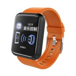 Sport 3 Smart Watch Blood Pressure IP67 Waterproof Fitness Tracker Clock Smartwatch For Ios Android Wearable Devices Orange