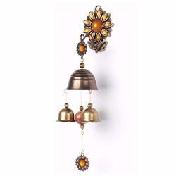 Anahbell Shopkeepers Door Bell Store Entry Door Chime Home Decoration - Sunflower 3BELLS Yellow