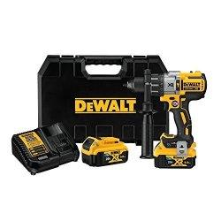 DEWALT 20V MAX Xr Hammer Drill Kit With Bluetooth Batteries DCD997P2BT