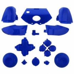 XBOX One Full Button Set Gloss Blue