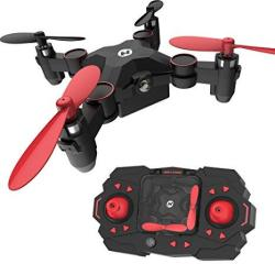 Holy Stone HS190 Foldable MINI Nano Rc Drone For Kids Gift Portable Pocket Quadcopter With Altitude Hold 3D Flips And Headless M