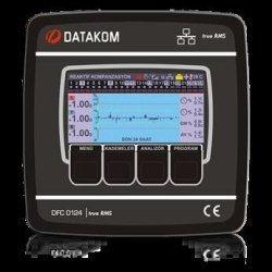 POWER DFC-0124 Factor Controller Datakom Factor Controllers