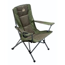 Campmaster Delux 300 High Back Camping Chair Green
