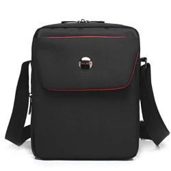 Rakkiss Oxford Cloth Crossbody Bag Solid Messenger Bag Large Capacity Handbag Shoulder Bag