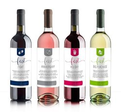 Sblabels Wine Bottle Labels For Bridal Shower Gift Wedding Gift Wedding Milestones Wedding Firsts Husband & Wife
