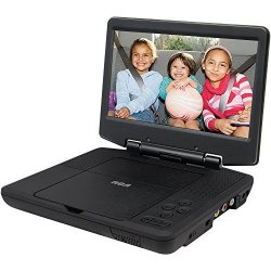 DRC98090 9-INCH Portable DVD Player Black