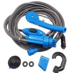 Portable Car Washer Dc 12V Camping Shower Car Shower Washer Set Electric Pump Sprayer For Outdoor Ca