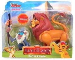 DISNEY JR The Lion Guard Rafiki & Simba Poseable Figures