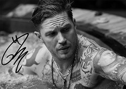 "Iconic Images Tom Hardy Movie Star Actor Print - Tom Hardy 11.7"" X 8.3"""