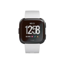 Fitbit Versa Fitness Watch in Black & White