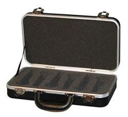 Gator GM6 Deluxe 6 Microphone Hardshell Case - New