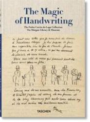 The Magic Of Handwriting. The Pedro Correa Do Lago Collection Hardcover Annotated Edition