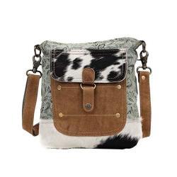 9265dd270bc1 Myra Bag Eau De Nil Upcycled Canvas & Cowhide Shoulder Bag S-1430 | R |  Accessories | PriceCheck SA