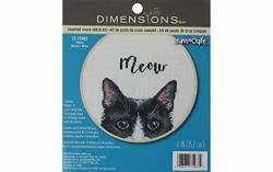 Dimensions 72-75983 X Stitch Kit Meow Multi