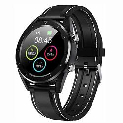 Bluetooth Smart Watch Fitness Watch IP68 Waterproof Smartwatch 1.54 Inch Full Touch Screen With Heart Rate Monitor Sleep Monitor Activity Tracker Pedometer Sms Call