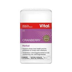 Vital Cranberry Caps 30'S