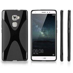 BoxWave Corporation Huawei Mate S Case Boxwave Bodysuit Premium Textured Tpu Rubber Gel Skin Case For Huawei Mate S - Jet Black