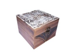 Wood Music Box HOSALA Personalizable Lord of The Rings Music Box Handmade Engraved Wooden