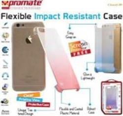 Promate CLOUD-I6 Ultra-slim Snap-on Case With Dual Transparent Colors For Iphone 6 Retail Box 1 Year Warranty