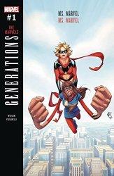 Marvel Comics Generations Ms Marvel & Ms Marvel 1