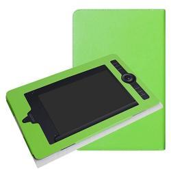 Wacom Intuos Pro Paper Medium PTH660P Case Mama Mouth Slim-book Folio Carry  Pu Leather Cover For Wacom Intuos Pro Paper Medium PTH660P Green | R |
