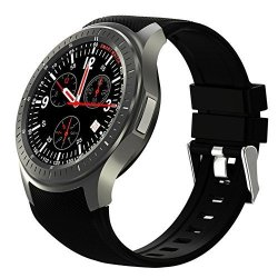Seesii Wifi Smart Watch Ios Android 5.1 Bluetooth Wrist 3G GSM Gps Sim Heart Rate Monitor Goggle Voi