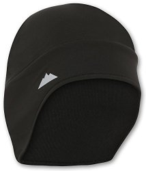 Tough Headwear Helmet Liner Skull Cap Beanie With Ear Covers. Ultimate Thermal Retention And Performance Moisture Wicking. Fits