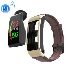 S2 1.08 Inch Tft Color Screen Smart Watch Leather Strap IP67 Waterproof Support Call Reminder heart Rate Monitoring sleep Monitoring blood Oxygen Monitoring blood Pressure Monitoring Brown