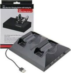 Roky Xbox One 4IN1 Charging Station With Cooling Fan