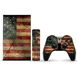 MightySkins Protective Vinyl Skin Decal For Nvidia Shield Tv Wrap Cover Sticker Skins Vintage Flag