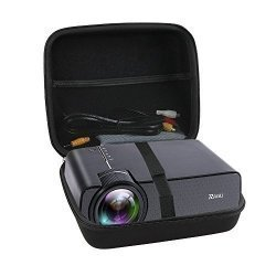 TRAVEL Hard Case For Ragu Z400 1600 Lumens MINI Portable Projector By Hermitshell