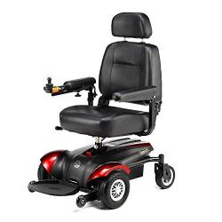 Merits Health Vision CF Front Wheel Drive Power Electric Wheelchair in Red