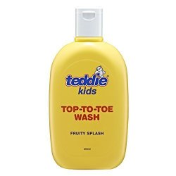Teddie Kids Top To Toe Wash - Fruity Splash 3 Bottle