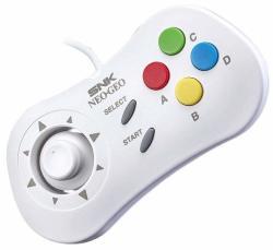 SNK Neogeo MINI - 40TH Anniversary Controller - White