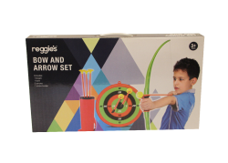 Bow & Arrow Set With Target