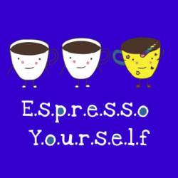 Espresso Yourself Royal-blue