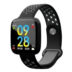 F15 1.3 Inch Tft Ips Color Screen Smart Bracelet Support Call Reminder Heart Rate Monitoring blood Pressure Monitoring Sleep Monitoring blood Oxygen Monitoring Black