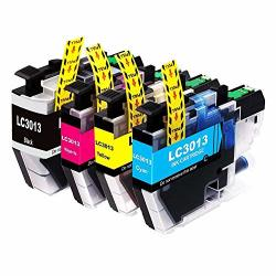 Kashing Compatible Ink Cartridges Replacement Brother LC3013 Lc 3013 Ink Cartridge Fit Brother MFC-J491DW MFC-J497DW MFC-J895DW MFC-J690DW Printer 1 Black 1 Cyan 1 Magenta